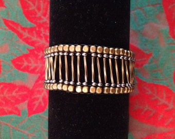 Brass Ladder Bracelet