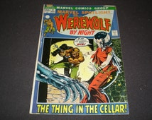 Marvel Spotlight 3, (1973), Werewolf by Night, Marvel Comics TW