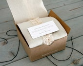 50 Favors - 1/4 lb English Butter Toffee with Personalized Message