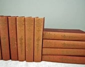 "1913 Vintage Antique ""The Complete Works of James Whitcomb Riley"" - Awesome Condition - Poetry Lovers - 10 Volume Set"