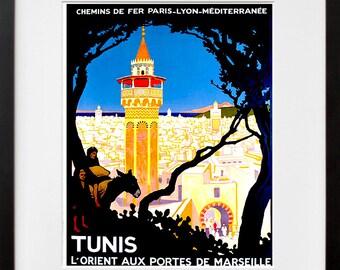 Africa Art Travel Poster Tunisia African Print Home Decor (ZT383)