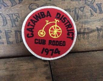 Vintage Antique Estate 1974 Cub Rodeo Bsa Boy Scouts Bike