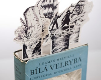 Moby Dick Bookmark set