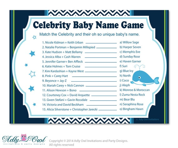 Can You Match The Celebrity Baby Name With Their Parents ...