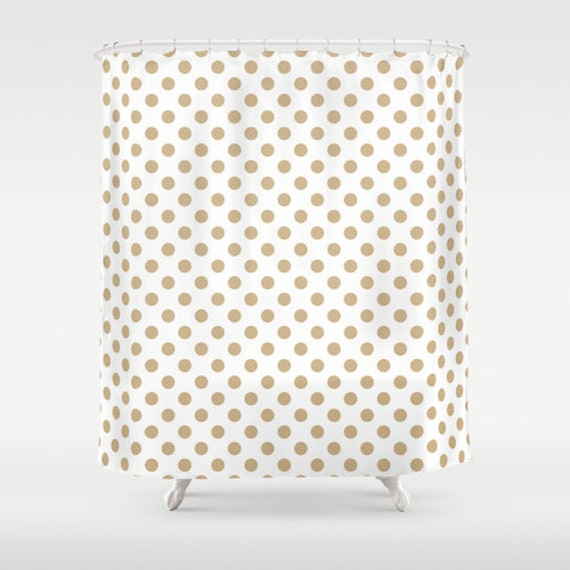 polka dot shower curtain neutral shower curtain bathroom. Black Bedroom Furniture Sets. Home Design Ideas