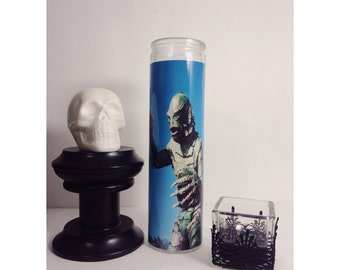 Universal Monsters The Creature from the Black Lagoon Horror Prayer Candle