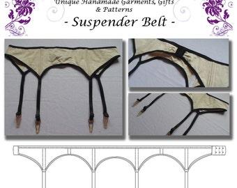 Basic Suspender Belt Pattern