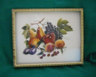 R. F. Harnett 3D fruit picture