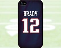 Tom Brady - New England Patriots Case: iPhone 4/4S, 5/5S/SE, 5C, 6/6S, 6 plus/6S plus / Samsung Galaxy S3, S4, S5, S6, S7