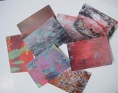 Set of 8 Blank Greeting Cards original paintings and prints paper goods by Zinnia Gallery
