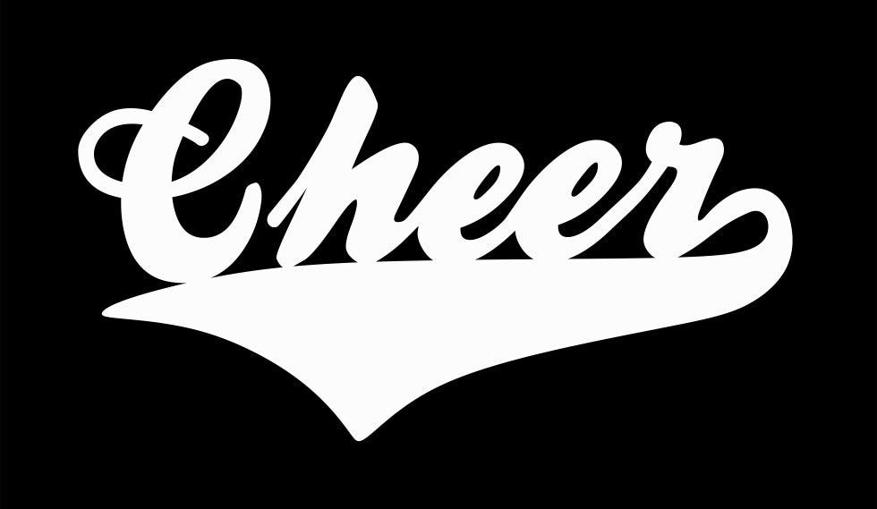 Cheer Vinyl Car Decal Sticker