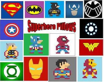 Superhero Pillows