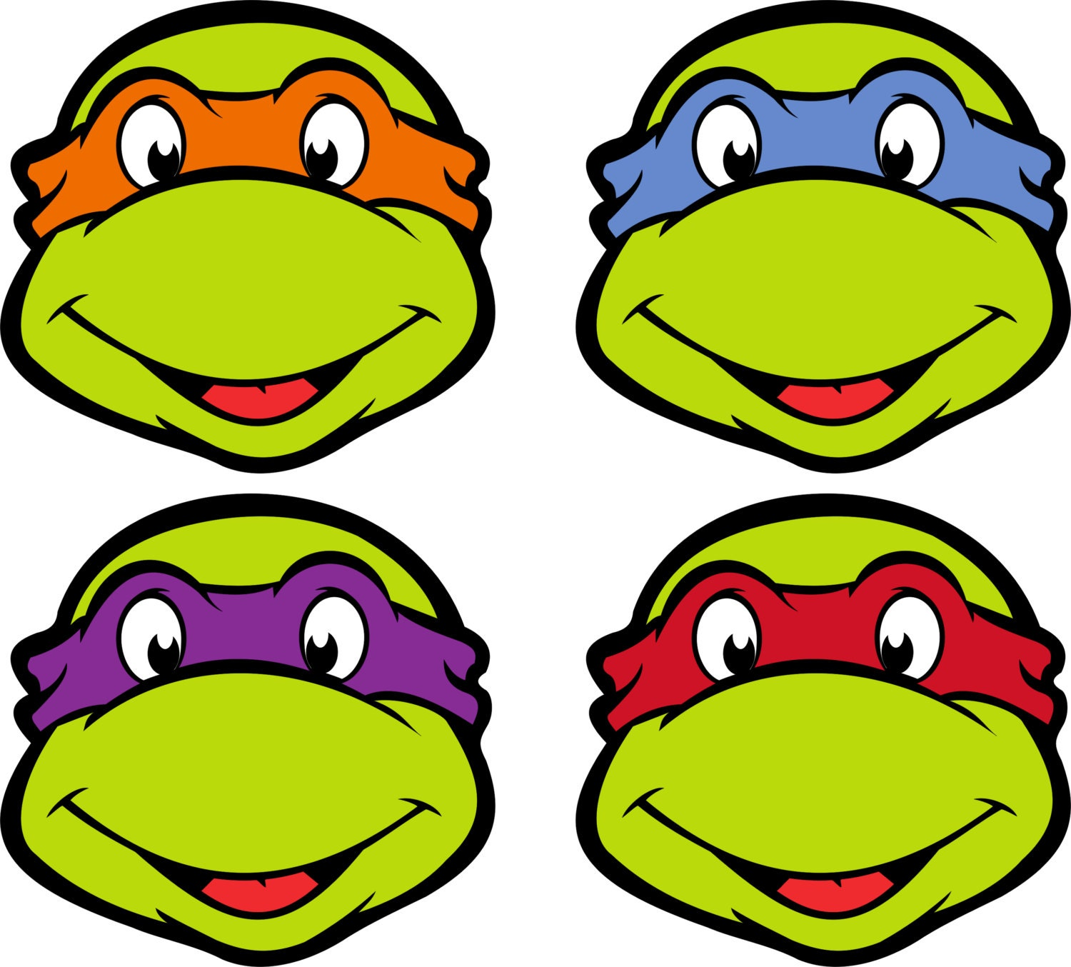 Hilaire image with ninja turtle mask printable