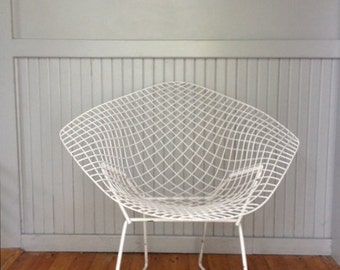 Vintage mid century Bertoia diamond wire chair  ***READ LISTING before purchasing****