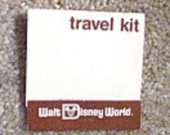 Vintage  Disney Walt Disney World Unused 1980 Travel Sewing Kit - Walt Disney Productions
