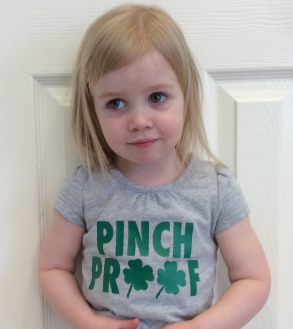 St Patrick's Day Clover Pinch Proof tshirt