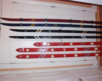 Custom Shot Ski--real ski used--easy clean-up--colors picked by you