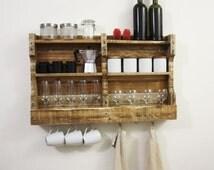 popular items for jar reclaim wood shelve on etsy. Black Bedroom Furniture Sets. Home Design Ideas
