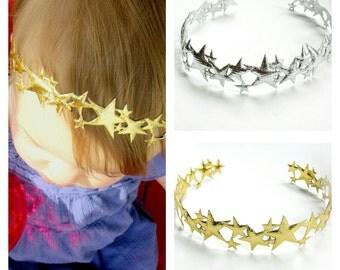 Twinkle Twinkle Little Star First Birthday, Star Headband, Twinkle Twinkle Little Star, Gold Star Headband, First Birthday, Gold Headband