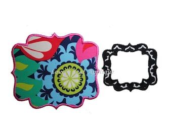 DIGITAL ITEM: Boutique Frame or Patch 5 SIZES