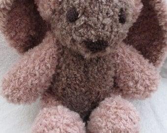 Heather the Hand Knit Bunny, soft bunny, Handmade, stuffed animal, toy, stuffed toy, Easter, gift, cute bunny, plush bunny, bunny softie