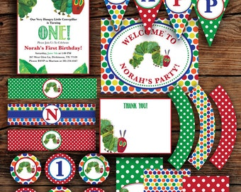Hungry Caterpillar Party Package