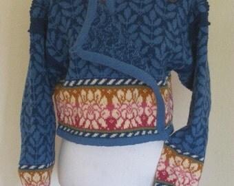 Knitted Norwegian Cardigan