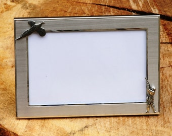 Pheasant Shooting Picture Frame Gift Landscape Or Portrait