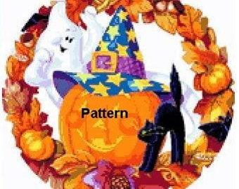 Halloween. Cross Stitch Pattern. PDF Files.