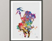 White Mage Final Fantasy illustrations Art Print  8x10 Wedding Gift Wall Art Poster Giclee Wall Decor Art Home Decor Wall Hanging No 32 featured image