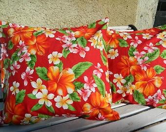 Grand Cushion 19.69 x  19.69 inch fabric Tahiti
