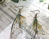 "Rather pretty ""Faerie wing earrings"""