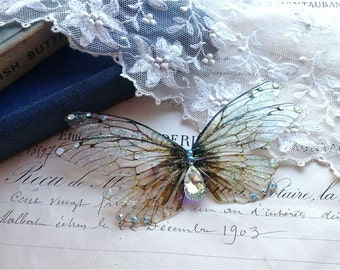 Pretty double Faerie wing Hair clip