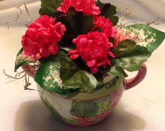 Small Sugar Bowl Floral Arrangement
