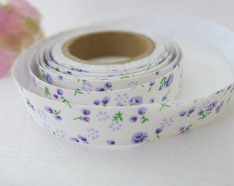 Floral Fabric Tape / Adhesive Decoration Fabric Tape  FT003