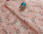 Moda Storybook Clotheline Peach Brushed Cotton