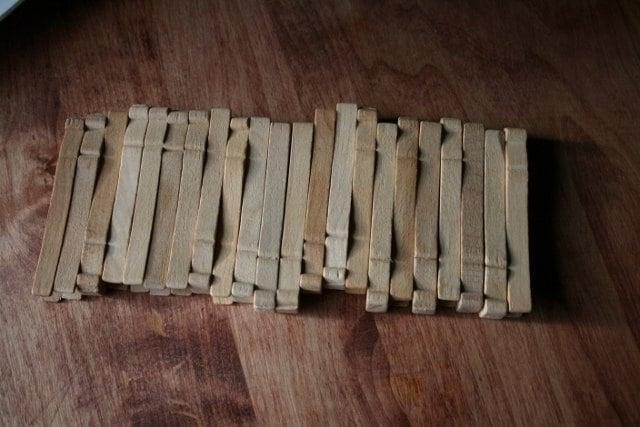 Wood clothes pins craft art supplies wedding supplies for Wedding craft supplies