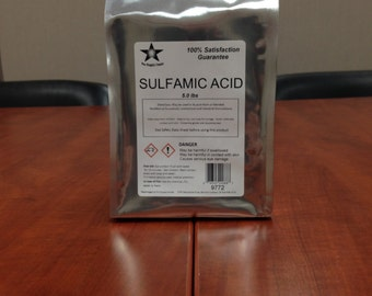 Sulfamic Acid 25 Lb Pack FREE SHIPPING!!