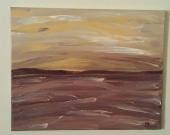 Original Abstract Acrylic Painting on stretched canvas