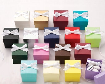 Two-Piece Colorful Wedding Favor Boxes - Sets of 25 (e111-2608)