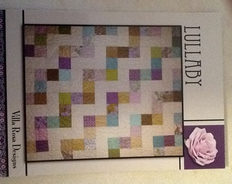 Lullaby quilt kit in modern colors