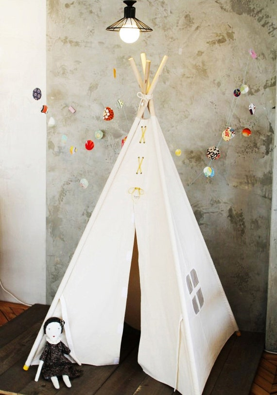 soabe simple carr tipi tente tipi jouets enfants jouet. Black Bedroom Furniture Sets. Home Design Ideas