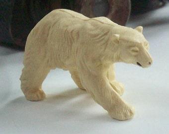 Vintage Britains Polar Bear / Plastic /