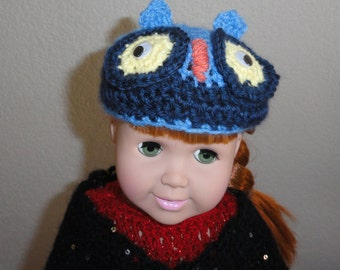 AG Doll Clothes – Owl Hat