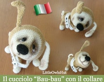 023e tutorial crochet puppy