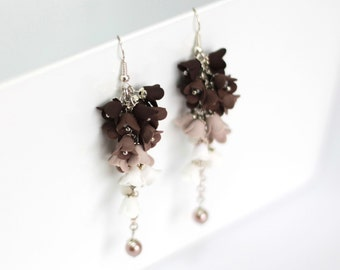 Earrings in bloom (Haladky, longer)