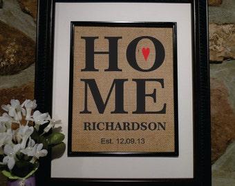 Christmas Gift New Home - Housewarming Gift - Engagement Gift - Gift for Wife - Bridal Shower Gift - Wedding Shower Gift (st105)