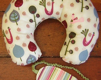 Travel pillow and eye mask SEWING PATTERN