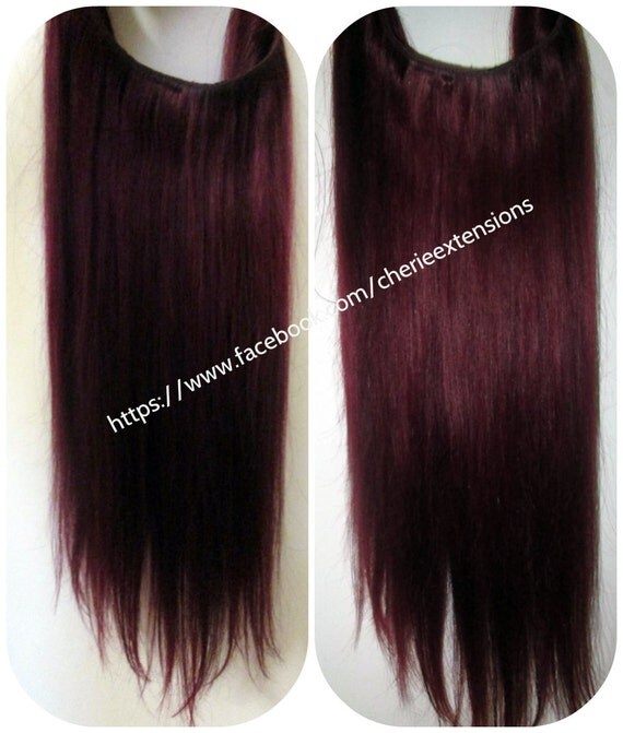 Remy Hair Extensions Halo 113