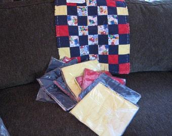 Boys Twin Rag Quilt Kit